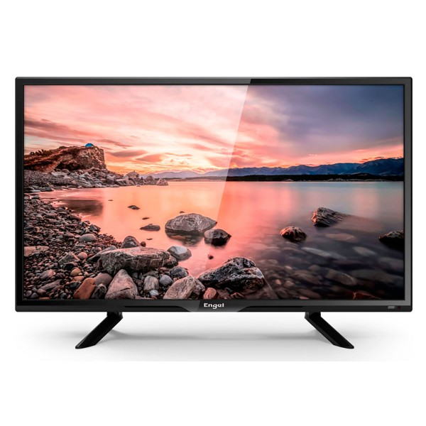 Engel 24le2460t2 televisor 24'' lcd led hd ready hdmi vga usb reproductor y grabador multimedia
