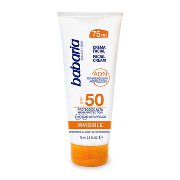 Babaria spf50 crema facial invisible 75ml