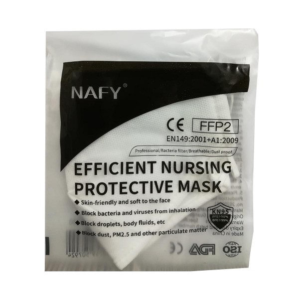 Nafy facial mascarilla ffp2 pm 2.5 1un
