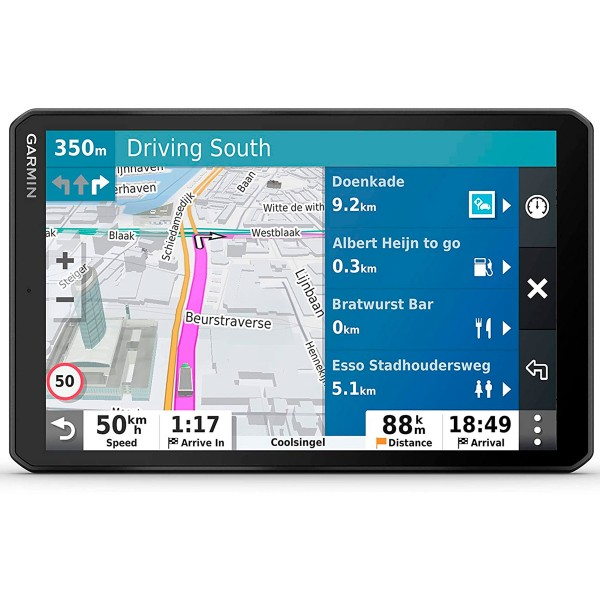 Garmin del lgv800 navegador para camión 8'' gps con mapas preinstalados de europa