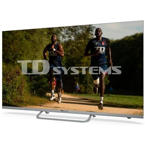 Td systems k50dlx11us televisor 50'' led smart tv uhd 4k hdmi usb ci+ dolby digital plus