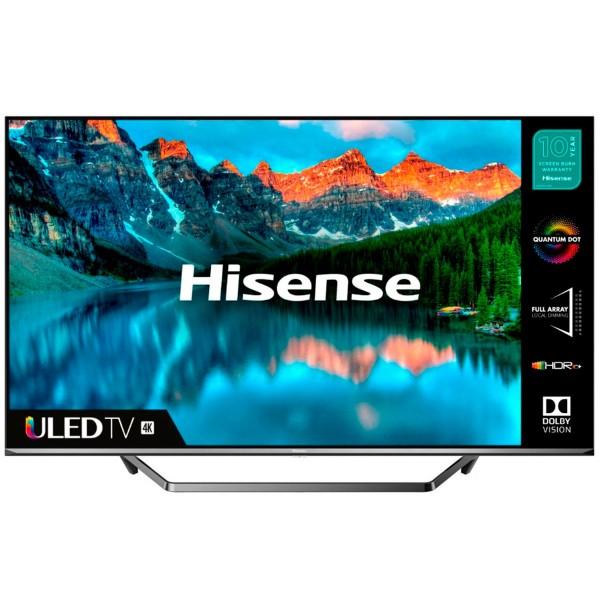 Hisense h55u7qf televisor 55'' smart tv uled 4k uhd hdr 2500pci ci+ hdmi usb bluetooth wifi lan