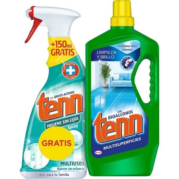 Tenn multisuperfícies 300 ml + higienizante sin lejía 650 ml PROMOCIÓN