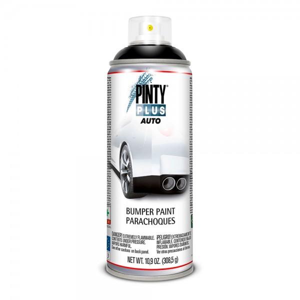 Pintura en spray pintyplus auto 520cc bumper liso negro  bl104